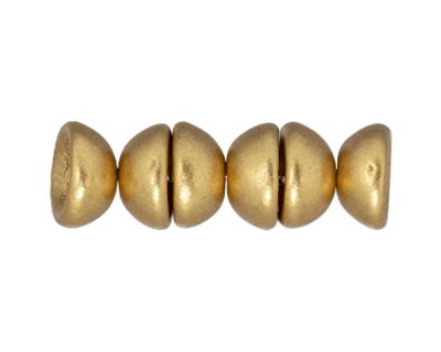 Matte Metallic Flax Teacup 2x4mm Seed Bead