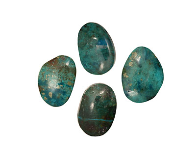 Chrysocolla Freeform Pendant 20-25x25-30mm