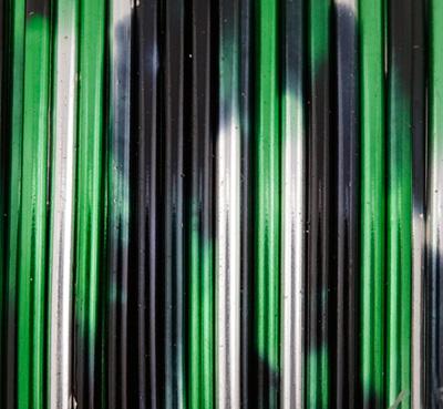 Artistic Wire MultiColor Silver/Black/Green 20 Gauge, 4 Yards