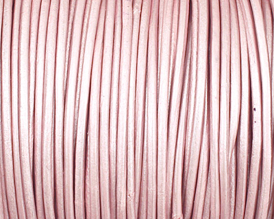 Suraiya (metallic) Round Leather Cord 2mm