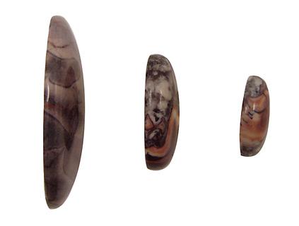 Porcelain Jasper Oval Cabochon 18x25mm