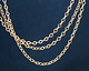 Satin Hamilton Gold (plated) Tiny Flat Oval Chain