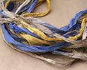French Countryside 100% Silk Sari Ribbon