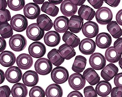 TOHO Transparent Amethyst Round 8/0 Seed Bead