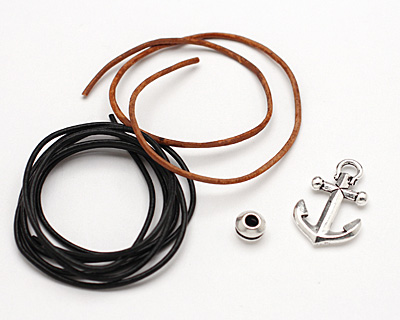 TierraCast Knotted Anchor Bracelet Kit