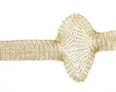 WireLace Brass Ribbon 12mm