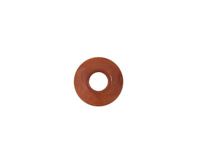 Tagua Nut Caramel Large Hole Rondelle 3x8mm