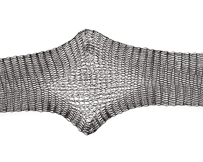 WireLace Black Ribbon 20mm