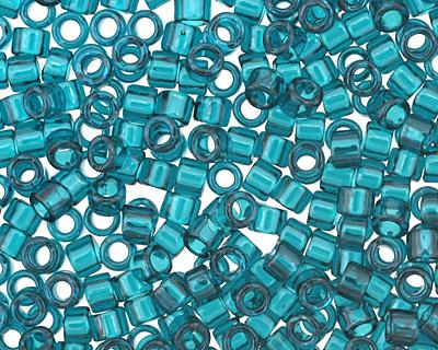 TOHO Transparent Capri Blue Treasure #1 Seed Bead