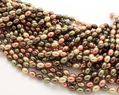 Harvest Shell Pearl Mix Rice 11x8mm