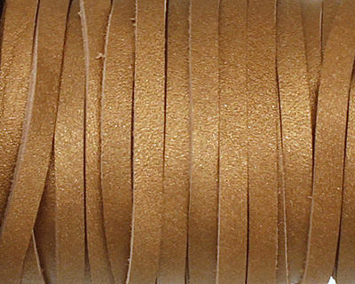 Bronze (metallic) Calf Craft Leather 3mm