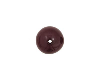 Tagua Nut Violet Round 20mm