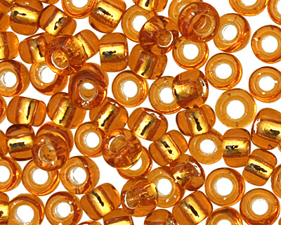 TOHO Topaz (with Silver Lining) Round 8/0 Seed Bead