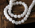 Rainbow Moonstone Faceted Round 5-6mm
