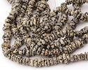 Dalmatian Jasper Side-Drilled Nugget 3-6x8-12mm