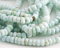 Peruvian Opal Faceted Rondelle 3.5-4mm