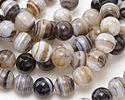 Gray Sardonyx Round 13mm
