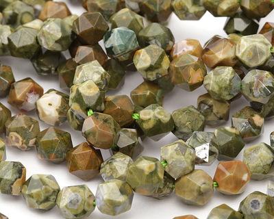 Rhyolite Star Cut Round 8mm