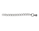 """Stainless Steel 1.5"""" Curb Extender Chain"""