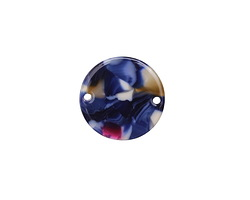 Zola Elements Twilight Acetate Coin Link 20mm