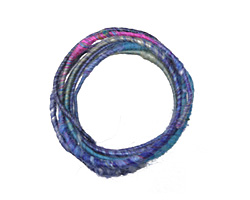 Blueberry Explosion WoolyWire 24 gauge, 3 feet