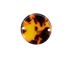 Zola Elements Tortoise Shell Acetate Coin Link 20mm