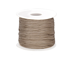Beige Chinese Knotting Cord 0.8mm, 120 yard spool
