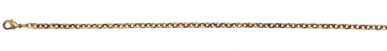 Vintaj Vogue Finished Classic Cable Chain 8""