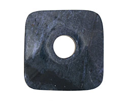 Dumortierite Square Donut 43-44mm