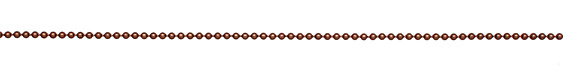 Antique Copper (plated) Ball Chain