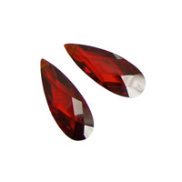 Salsa Faceted Flat Teardrop 7x18mm