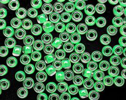 TOHO Luminous Neon Green Round 6/0 Seed Bead