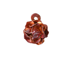 Patricia Healey Copper Rose Charm 18mm