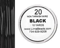 Parawire Black 20 gauge, 10 yards
