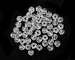 Czech Glass Crystal English Cut Round 3mm