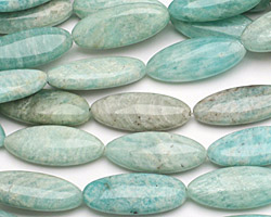 Brazil Amazonite Flat Oval 30x12mm