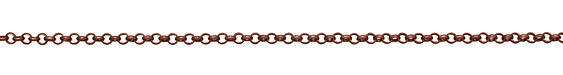Antique Copper (plated) Rollo Chain
