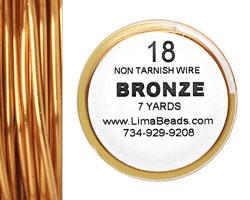Parawire Bronze 18 gauge, 7 yards