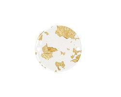 Zola Elements Gold Foil Acetate Coin Link 20mm