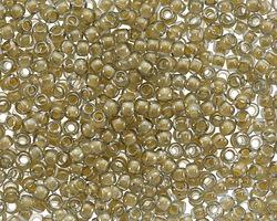 TOHO Black Diamond (with Orange Creme Lining) Round 8/0 Seed Bead