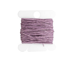 Lavender Irish Waxed Linen 3 ply