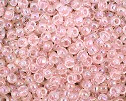 TOHO Transparent Ballerina Pink Round 6/0 Seed Bead