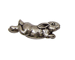 Green Girl Pewter Jumping Bunny 8x32mm