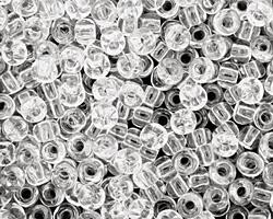 TOHO Transparent Crystal Round 6/0 Seed Bead