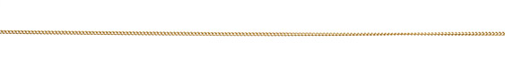 Satin Hamilton Gold (plated) Tiny Curb Chain