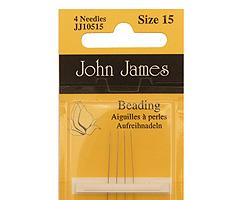 John James Size 15 English Beading Needles