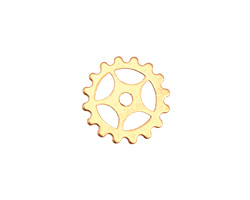 Brass Small Sectioned Gear 16mm