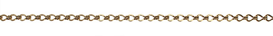 Antique Gold (plated) Large Ladder Chain