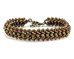 Vineyard Harvest Bracelet Pattern for CzechMates
