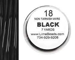 Parawire Black 18 gauge, 7 yards